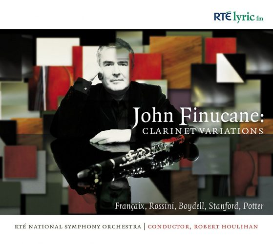 Clarinet Variations CD John Finucane clarinet