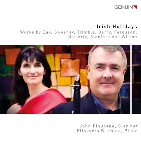 Irish Holidays CD John Finucane clarinet and Elisaveta Blumina piano
